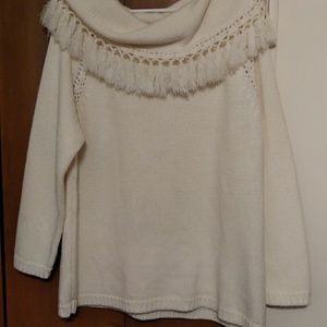 White sweater 1x